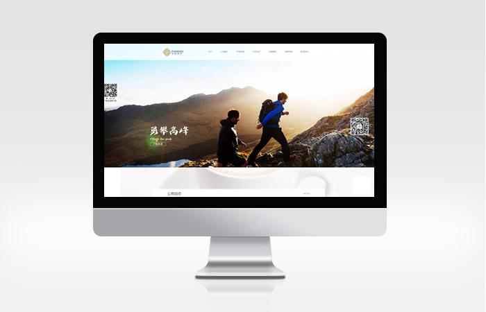 泛皓投资网站设计